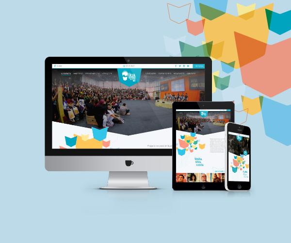 Produzimos o site, desenvolvemos ações digitais, campanhas de mídia e a cobertura dos eventos.