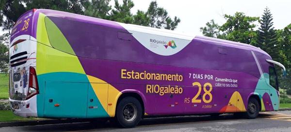 Campanha Publicitária para o Estacionamento RIOgaleão.